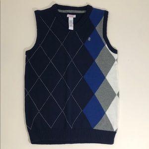 🎈 3/$18 IZOD Boys knit vest NWOT size L